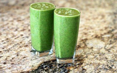Groene smoothies met avocado