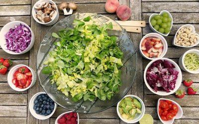 keto dieet salade maken!