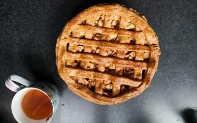 Koolhydraatarme appeltaart bereiden? Dit recept is goud waard