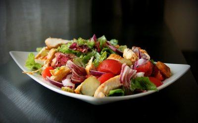 Gezonde koolhydraatarme salade maken!
