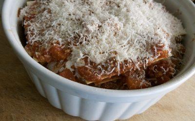 Koolhydraatarme pompoen lasagne